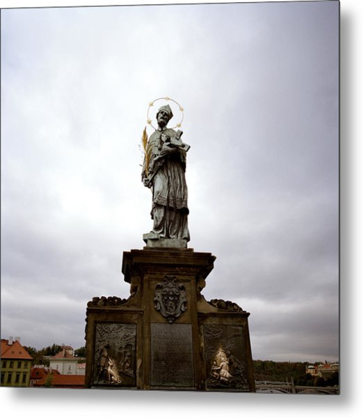 Saint John Of Nepomuk Metal Print