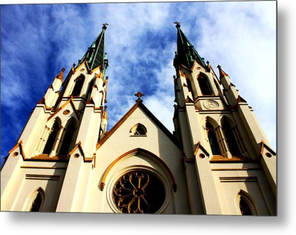 St. John The Baptist Cathedral Metal Print by Dana  Oliver