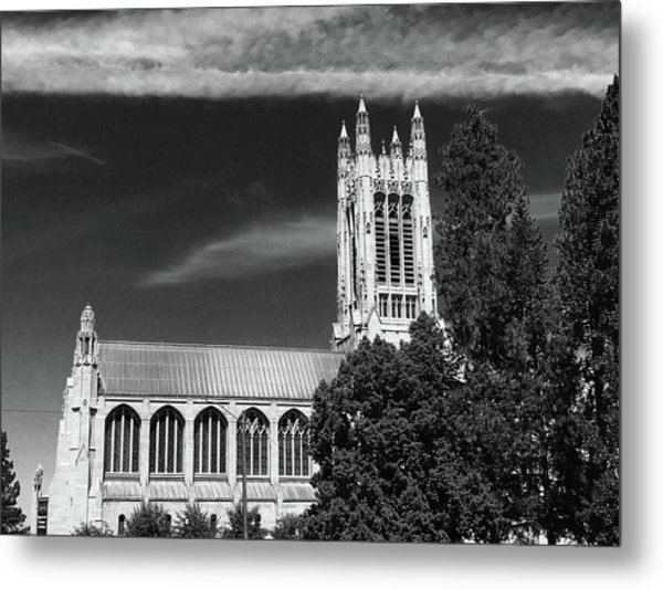Metal Print featuring the photograph St. John's Cathedral Spokane by Pacific Northwest Imagery