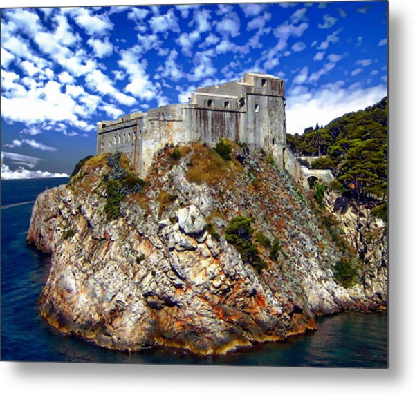 St. Lawrence Fortress Metal Print