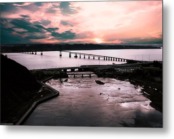 St. Lawrence Sunset Metal Print