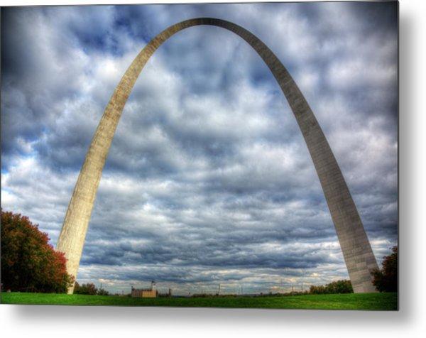 St. Louis Arch Metal Print