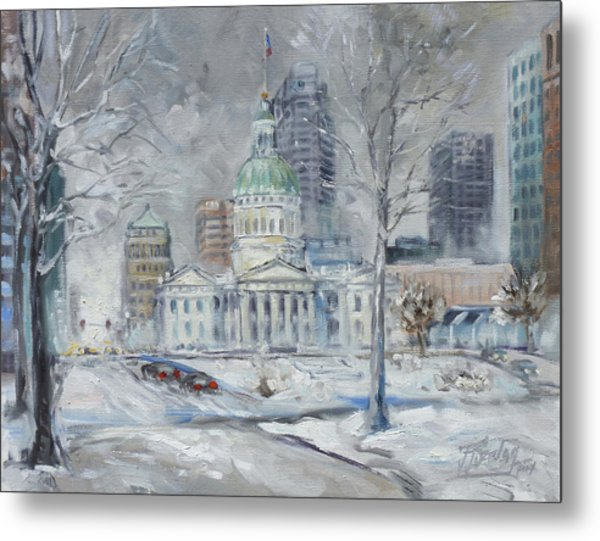 St. Louis Downtown Old Courthouse Metal Print