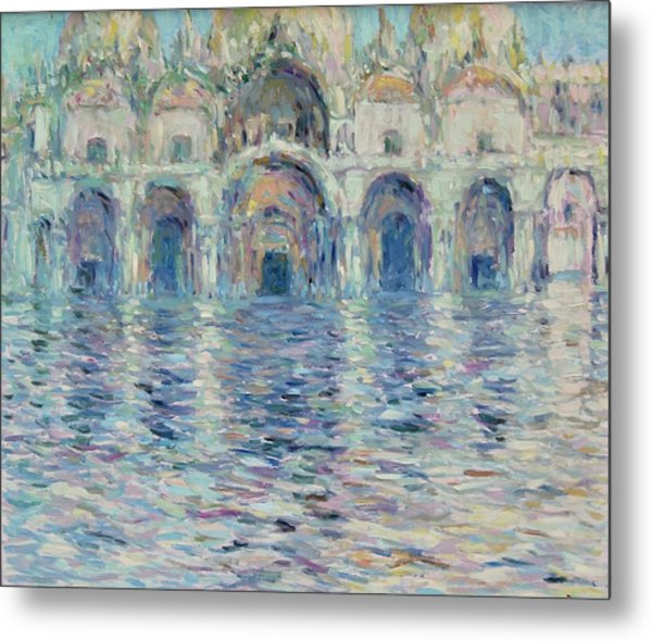 st-Marco square- Venice Metal Print