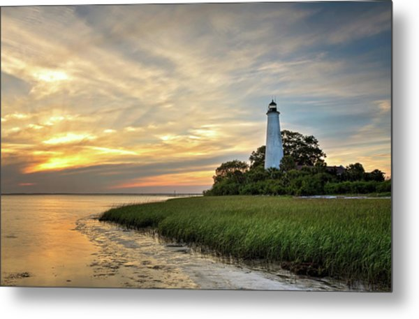 St. Mark's Lighthouse Metal Print