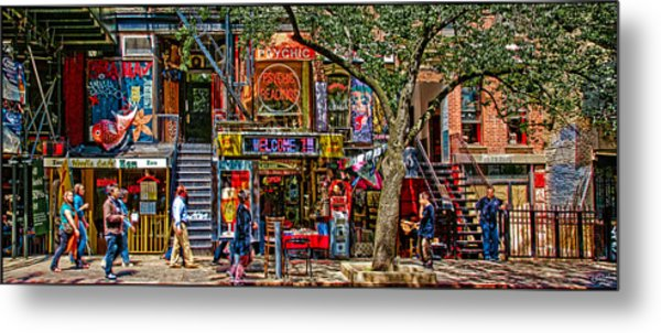 St Marks Place Metal Print