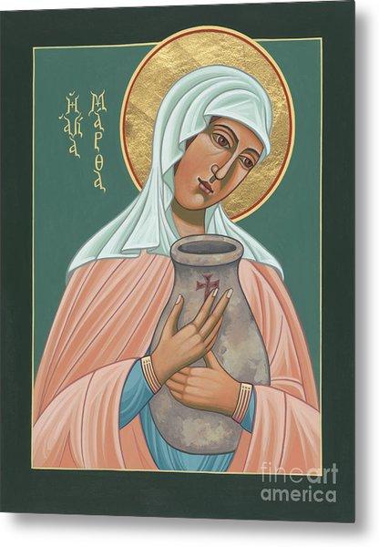 St Martha Of Bethany  Metal Print