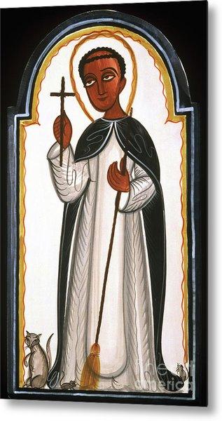 St. Martin Of Porres - Aomap Metal Print