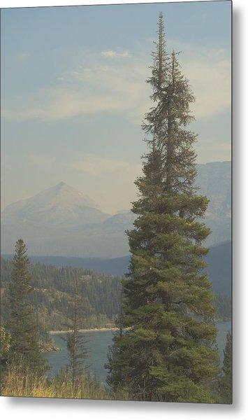 St. Mary Lake, Glacier, Montana Metal Print by Joseph Thiebes
