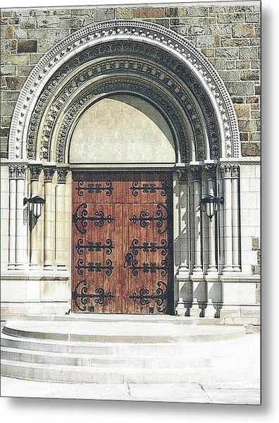 St. Mary's Of Redford Entrance Metal Print