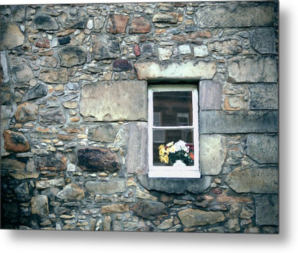 St. Mary's Window Metal Print