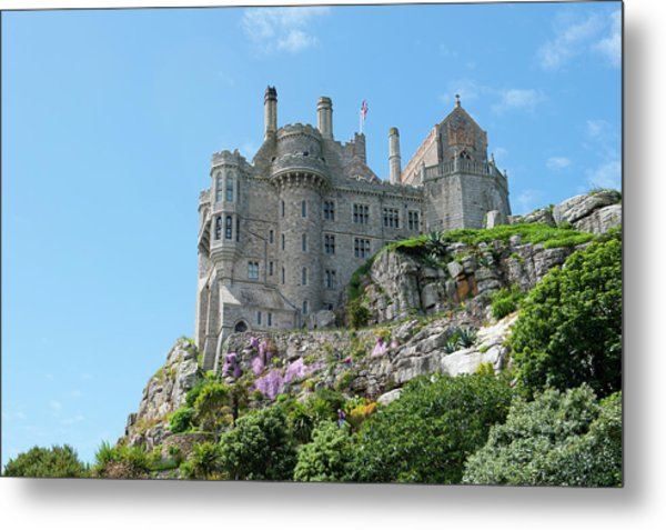 St Michael's Mount Castle Metal Print
