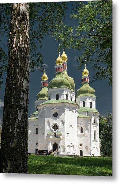 St. Nicholas Cathedral. Nizhyn, 2016. Metal Print