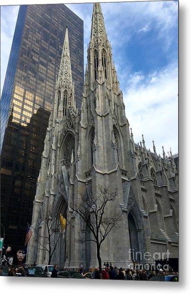 St. Patricks Cathedral Metal Print