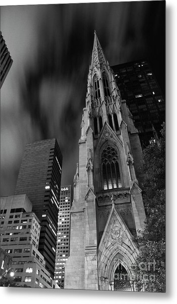 St Patricks Cathedral Metal Print