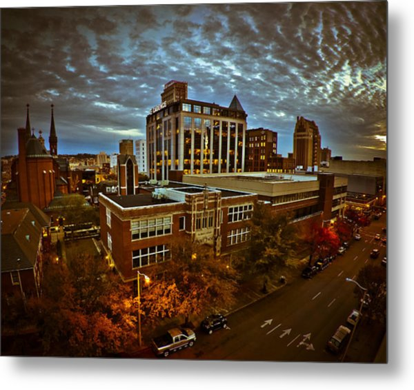 St. Paul Twilight Metal Print