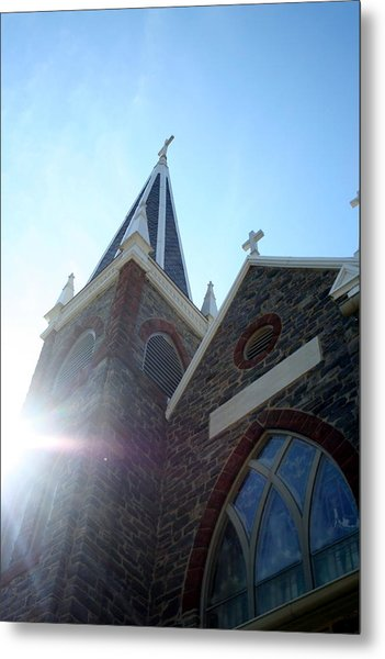 St Peters Roman Catholic Church Metal Print by Rebecca Smith
