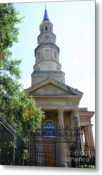 St. Phillips Episcopal Church, Charleston, South Carolina Metal Print