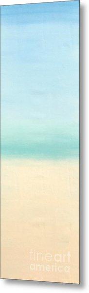 St Thomas #1 Seascape Landscape Original Fine Art Acrylic On Canvas Metal Print
