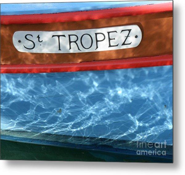 St. Tropez Metal Print