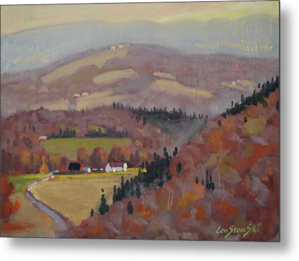 Stafford Hill From The Glen 2 Metal Print