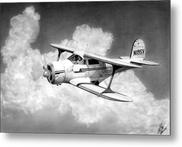 Staggerwing Metal Print by Lyle Brown