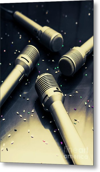 Staging A Disco Metal Print