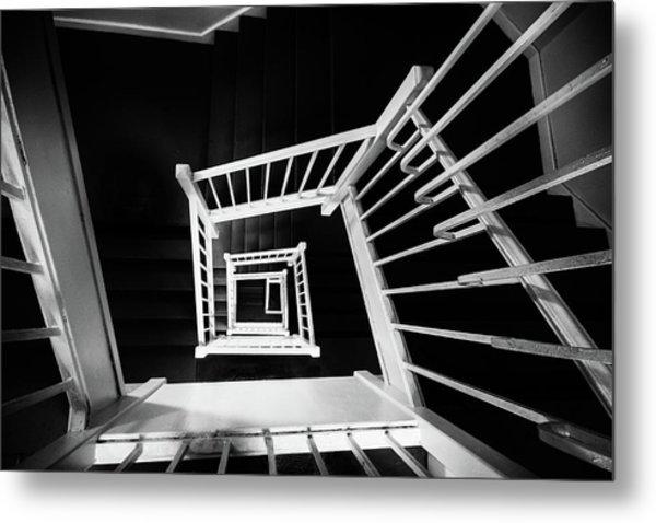 Staircase II Metal Print