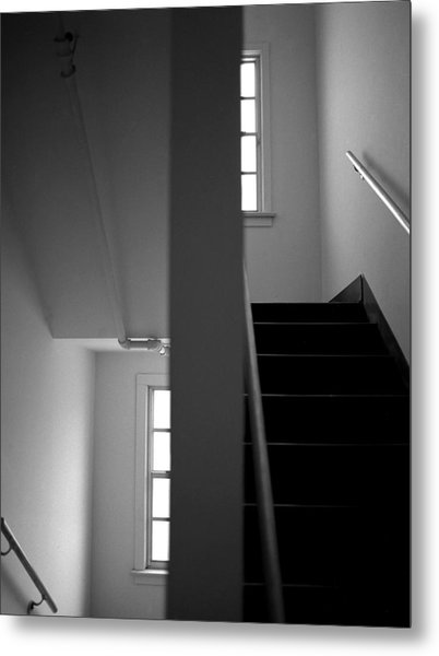 Staircase View Metal Print by Matthew Altenbach