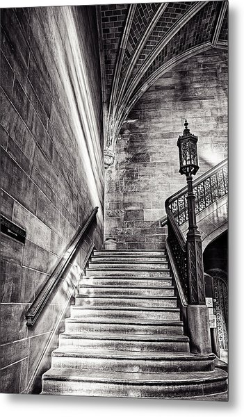 Stairs Of The Past Metal Print