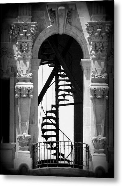 Stairway To Heaven Bw Metal Print