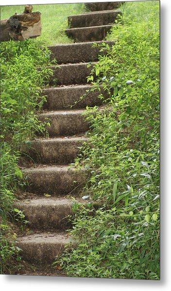 Stairway To Heaven Metal Print by Heather Green