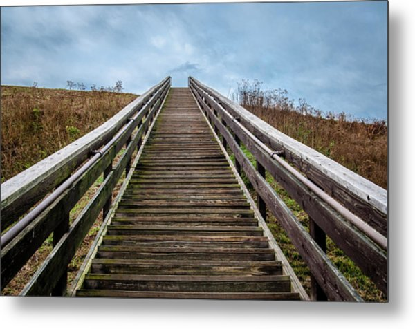 Stairway To The Sky Metal Print