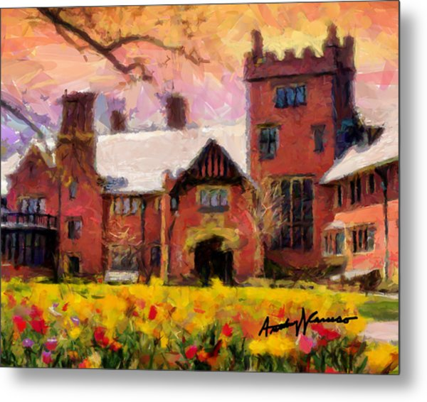 Stan Hewyt Hall And Gardens Metal Print by Anthony Caruso