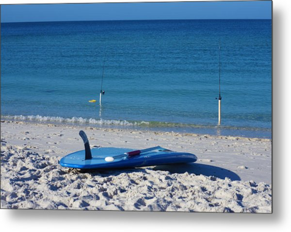 Stand Up Paddle Board Metal Print