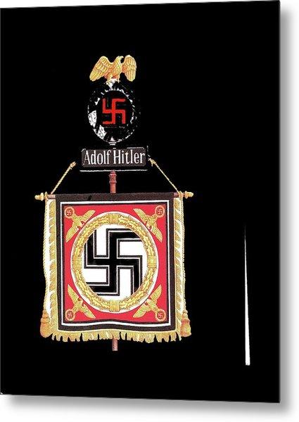 Standard Of The Leibstandarte Adolf Hitler Circa 1935  Metal Print
