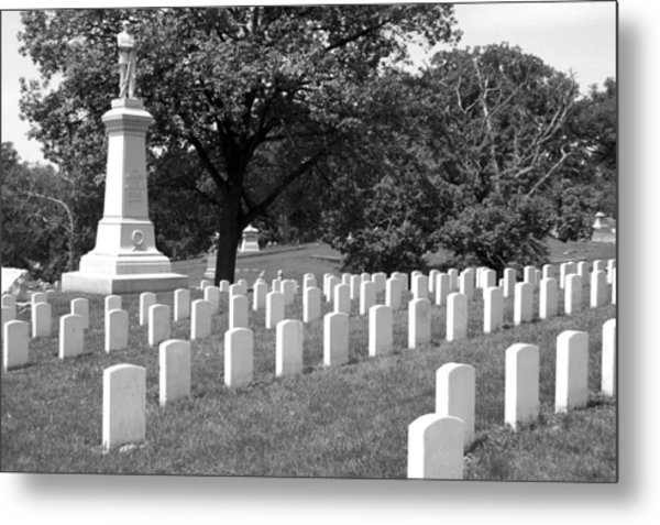 Standing For Those Who Stood Metal Print by Jame Hayes