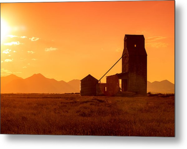 Stanford Sunset Metal Print