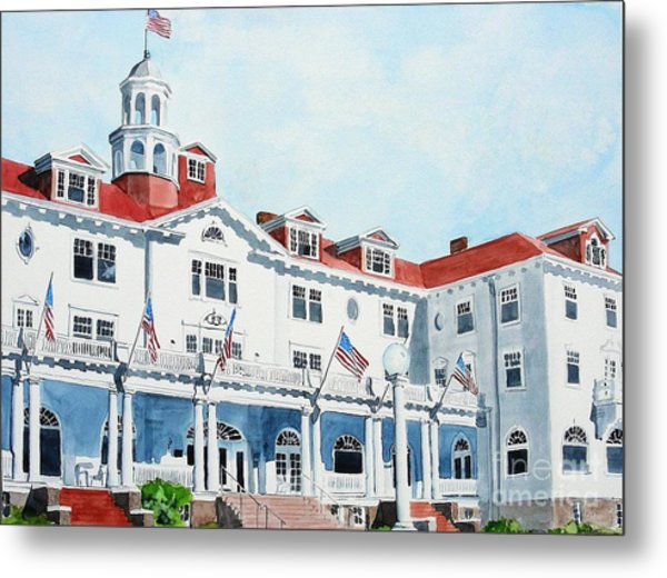 Stanley Hotel Two Metal Print
