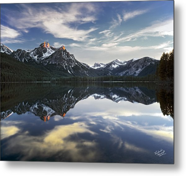 Stanley Lake Metal Print