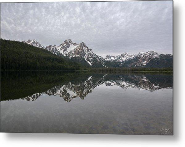 Stanley Lake Reflection Metal Print