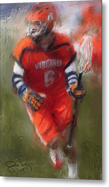 Stanwick Lacrosse 3 Metal Print by Scott Melby