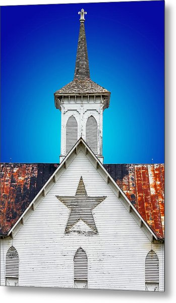 Star Barn 2 Metal Print