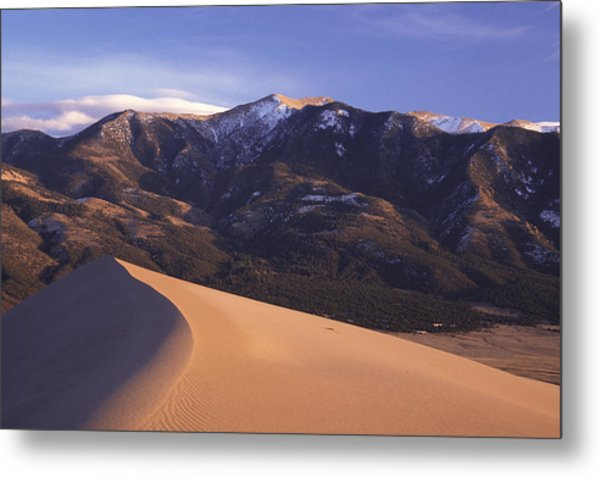 Star Dune Metal Print by Eric Foltz