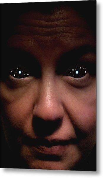 Star Eyed Metal Print by David Koonce