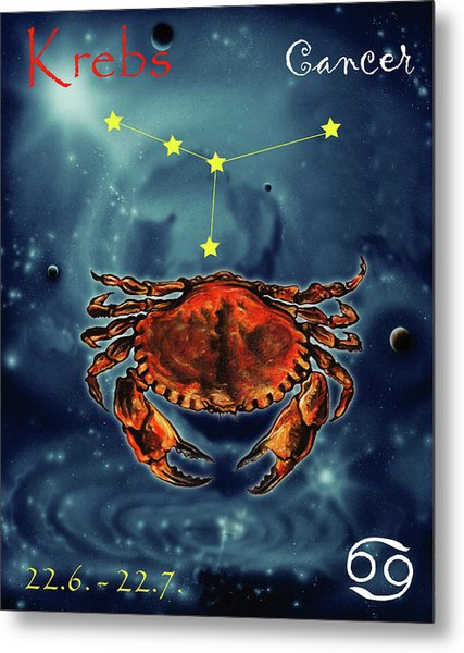 Star Of Cancer Metal Print
