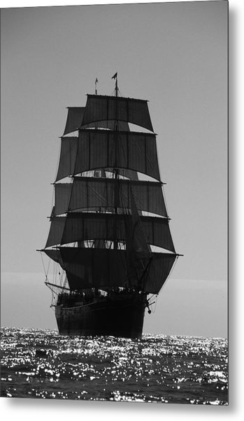 Star Of India Backlit Metal Print