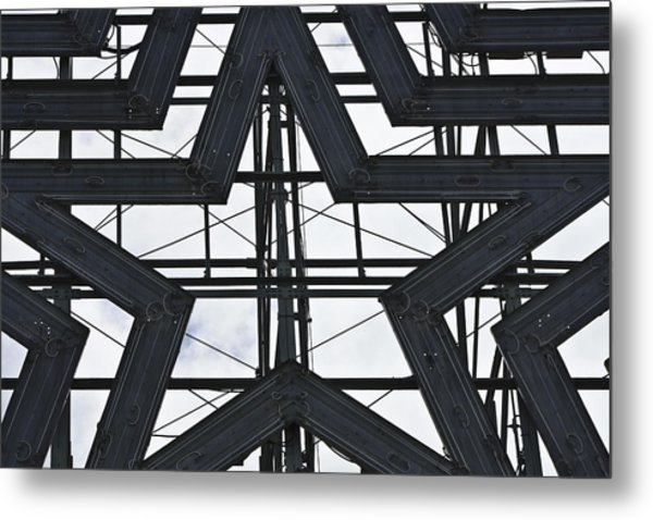 Star Power Roanoke Virginia Metal Print