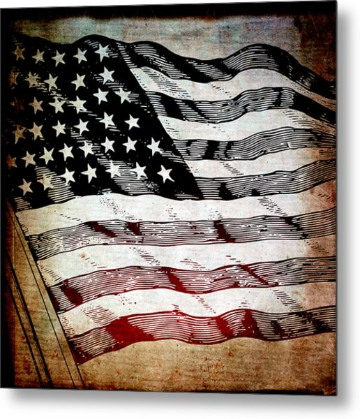 Star Spangled Banner Metal Print