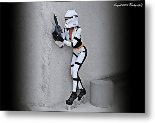 Star Wars By Knight 2000 Photography - Armor Metal Print